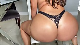 Big butt, Latin milf, Julianna Vega had amazing sex with Jmac, while his wife was at work